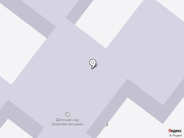 Золотой петушок на карте Средней Ахтубы