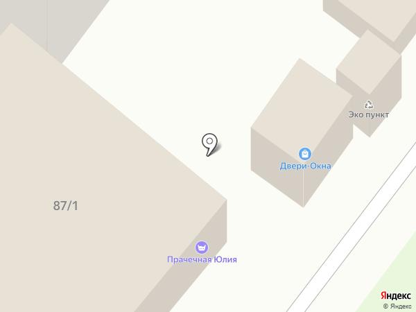 АСПЕКТ-Н на карте Средней Ахтубы