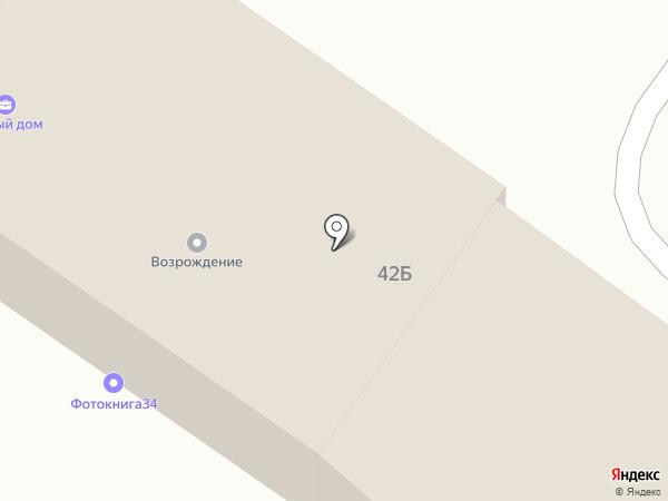 Фотокнига34 на карте Средней Ахтубы