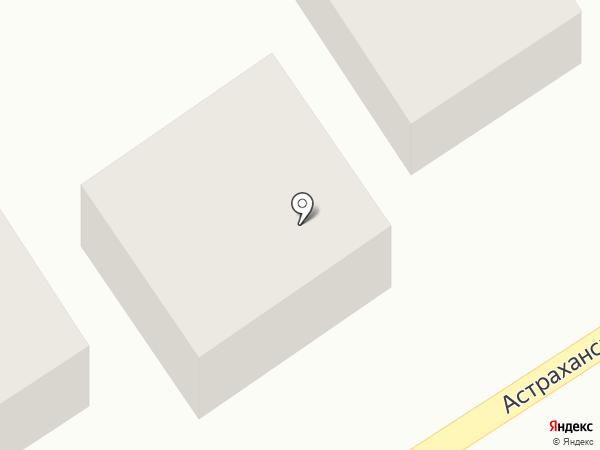 Муравейник на карте Средней Ахтубы