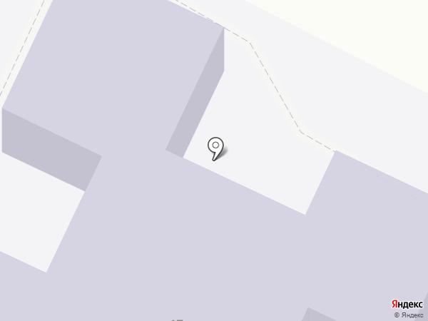 Колосок на карте Средней Ахтубы