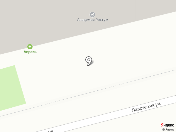 Академия Ростум на карте Пензы