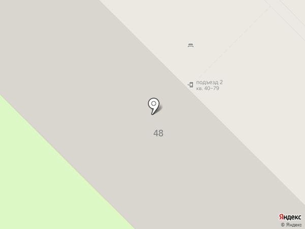 Монолит, ТСЖ на карте Пензы