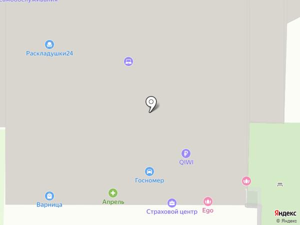 СОЛЬ+ на карте Пензы