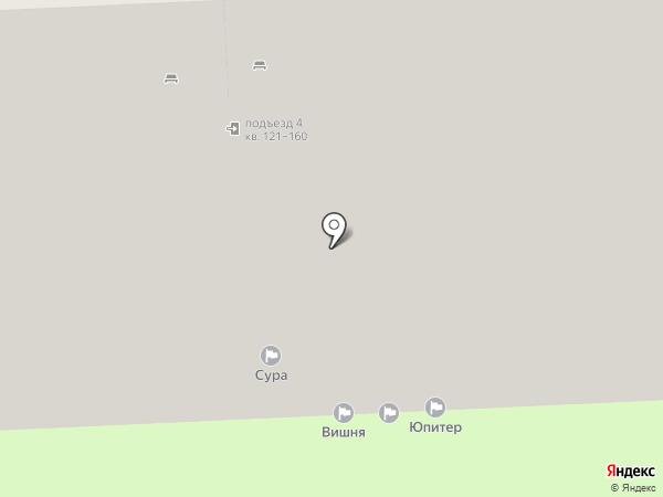 Сура, ТСЖ на карте Пензы