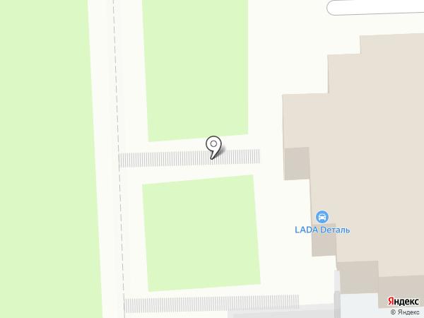 Автомагазин деталей Lada на карте Пензы