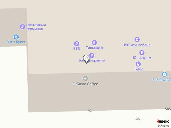 МТС на карте Пензы