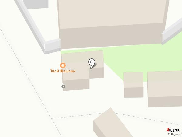 Киоск по продаже хлебобулочных изделий на карте Пензы