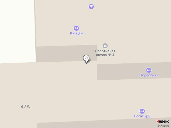 Богатырь на карте Пензы