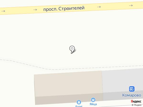 Магазин по продаже бытовой химии на карте Пензы
