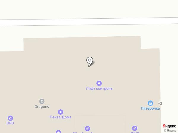 КАЙММЕД на карте Пензы