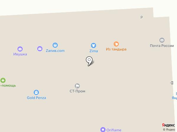 Ювелирный магазин-мастерская на карте Пензы