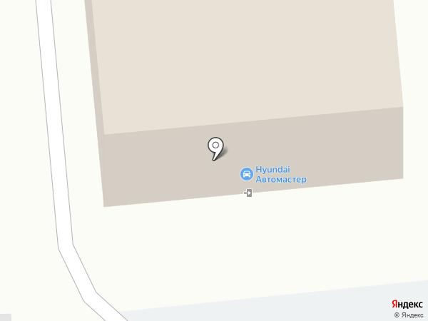 Автомастер на карте Пензы