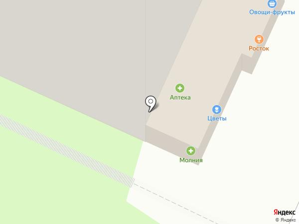 Фиалка на карте Пензы