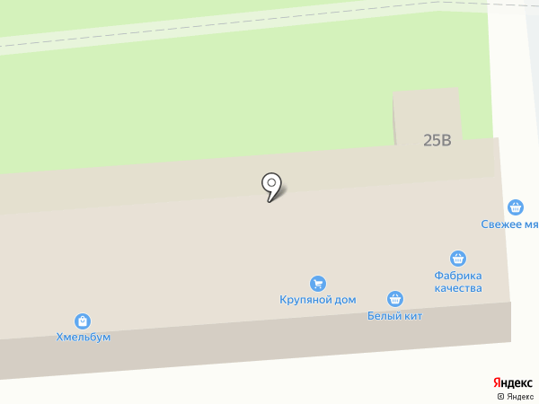 Мясная лавка на карте Пензы