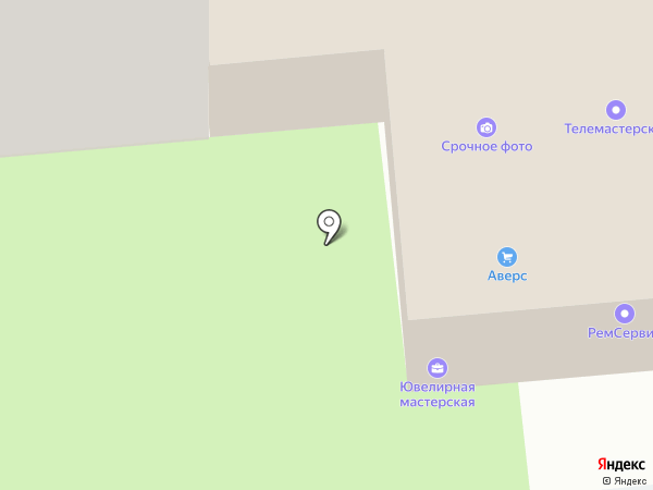 Магазин-мастерская на карте Пензы