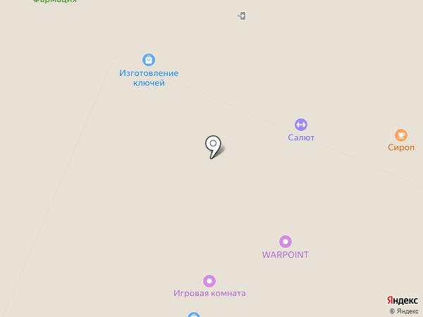 ЯГОЗА на карте Пензы