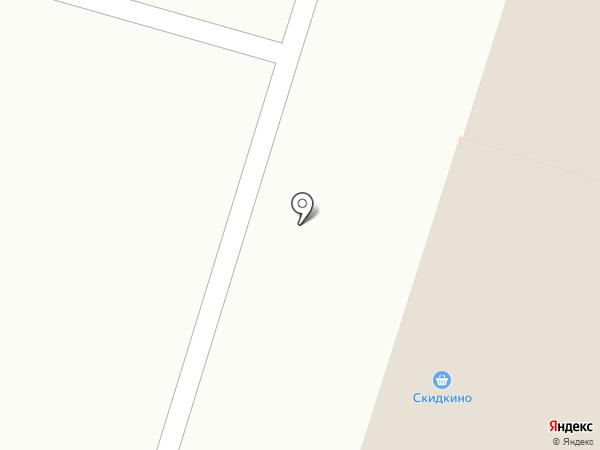 Скидкино на карте Пензы