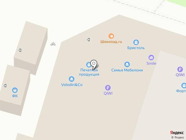 SV-мебель на карте Пензы
