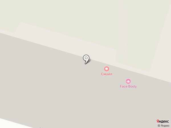Смайл на карте Пензы