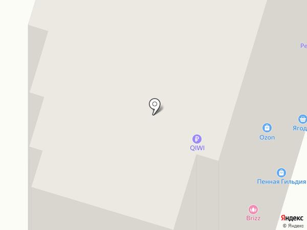 Ягодка на карте Пензы