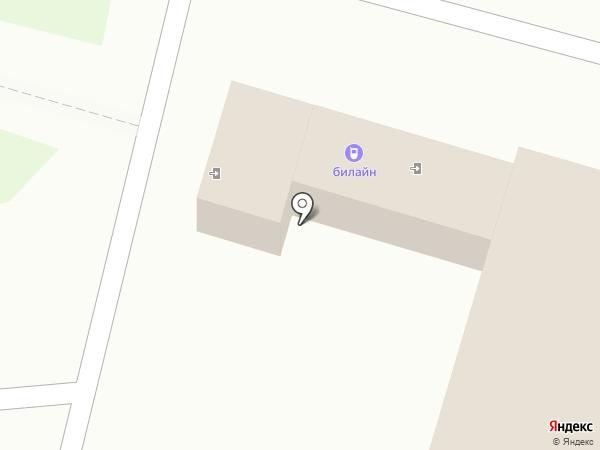 Билайн на карте Пензы