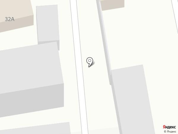Стоянка для грузовых и легковых автомобилей на карте Пензы
