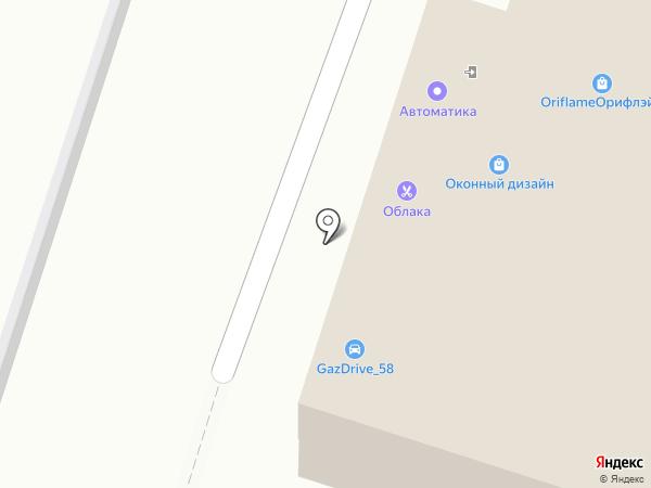 Специализированный магазин на карте Пензы