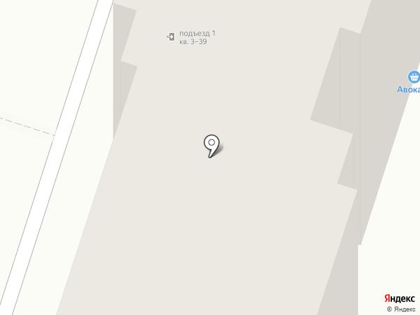 Маггласс на карте Пензы