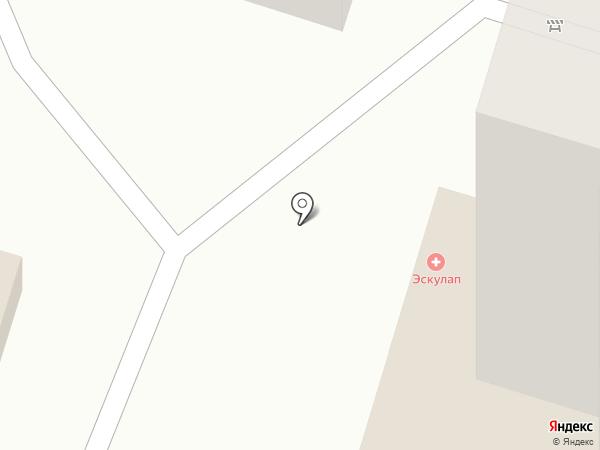 Эскулап на карте Пензы