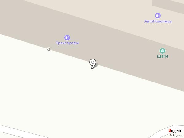 Антиколлектор на карте Пензы