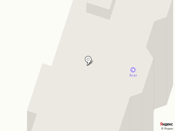 Агат на карте Пензы