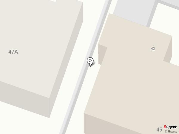 Домашний отель на карте Пензы
