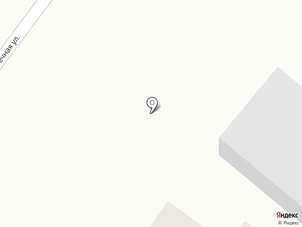 Ивановский на карте Ивановки