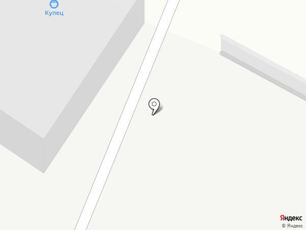 Автостоянка на карте Пензы