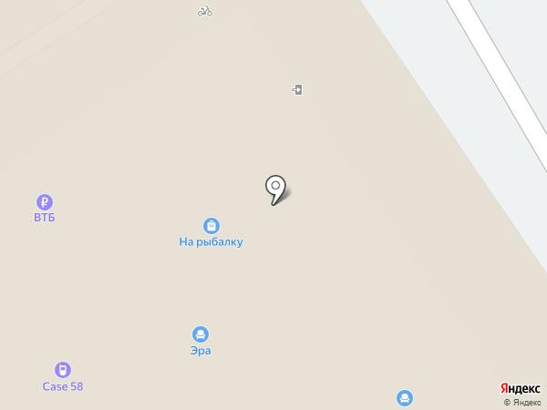 На рыбалку-58 на карте Пензы