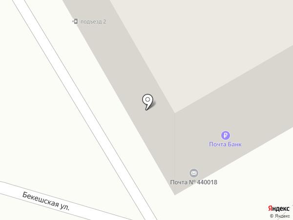 Почтовое отделение №18 на карте Пензы