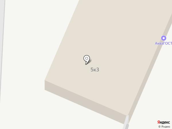 АкваГОСТ на карте Пензы