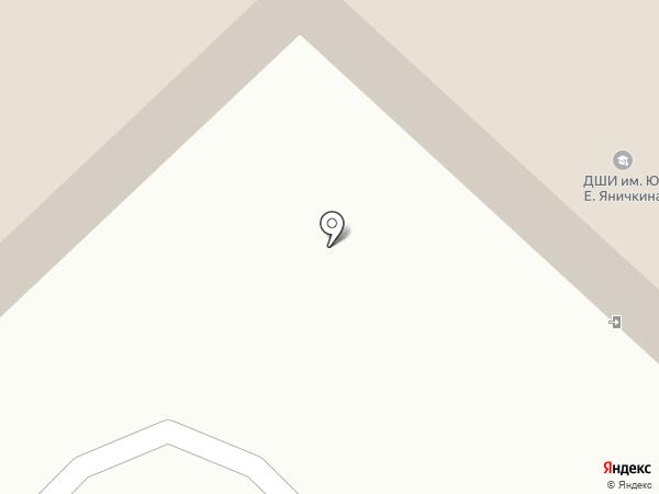 Городская библиотека №19 на карте Пензы