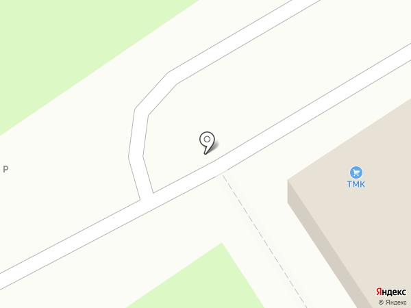 Инструмент ТМК на карте Пензы