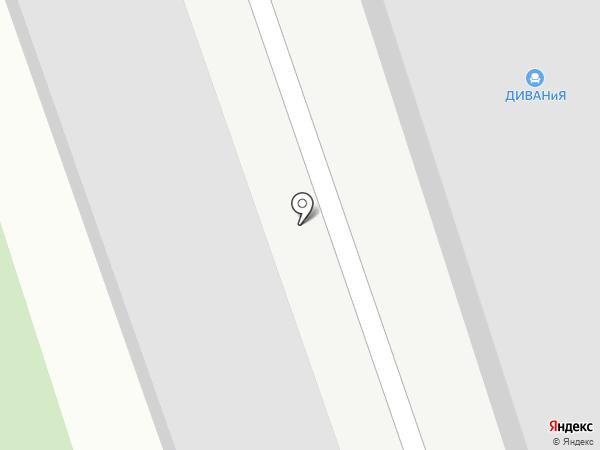 Пилот на карте Пензы