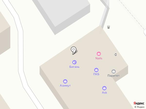 Сталкер на карте Пензы