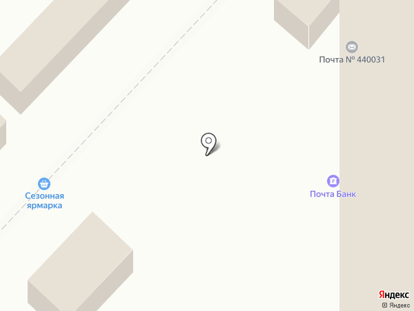 Ульяна на карте Пензы