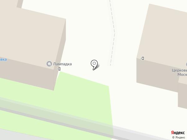 Храм во имя святой Блаженной Матроны Московской на карте Пензы