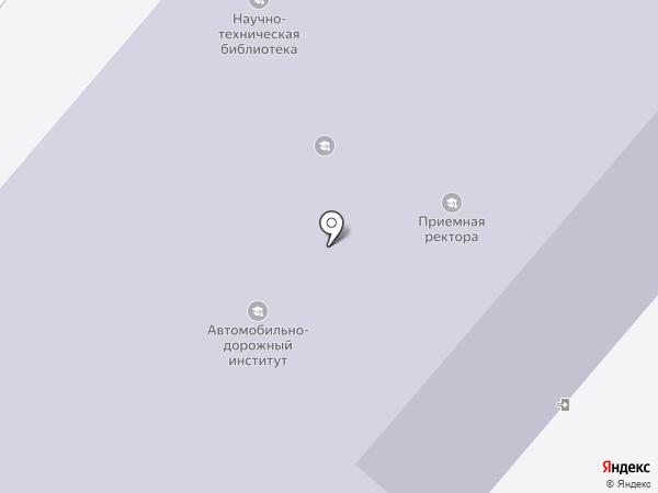 Пензенский государственный университет архитектуры и строительства на карте Пензы