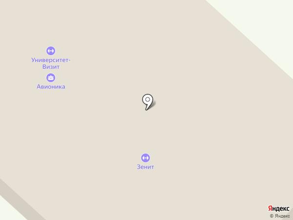 Зенит на карте Пензы