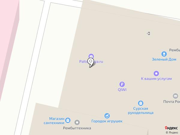 Кега на карте Пензы