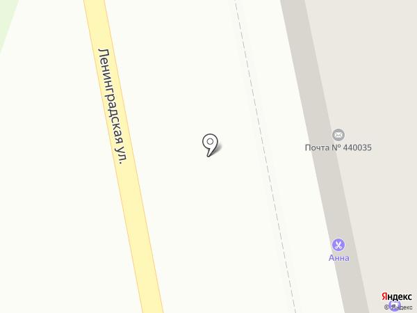 Почтовое отделение №35 на карте Пензы
