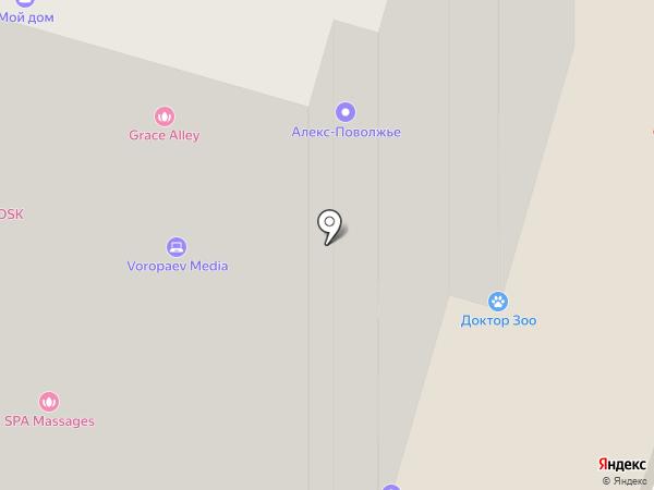Строй Хаус на карте Пензы