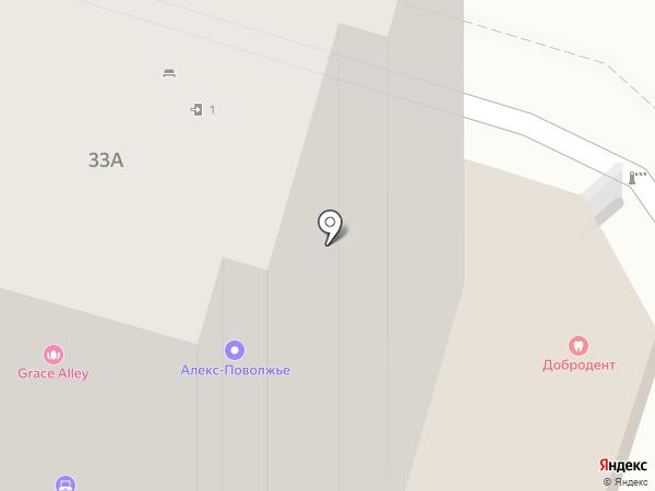 Фонтан Желаний на карте Пензы